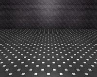 Zwarte ruimte Stock Foto