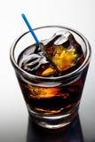 Zwarte Russische cocktail Stock Fotografie