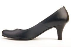 Zwarte schoen royalty-vrije stock foto