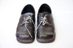 Zwarte schoen Stock Fotografie
