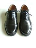 Zwarte schoen Stock Afbeelding