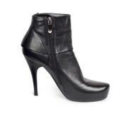 Zwarte schoenen Stock Foto's