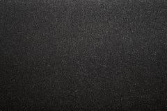 Zwarte schuurpapiertextuur Royalty-vrije Stock Afbeelding