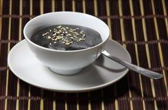 Zwarte Sesamsoep Royalty-vrije Stock Fotografie