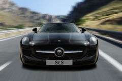 Zwarte SLS Stock Afbeelding