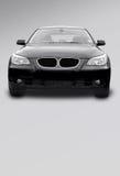Zwarte sportwagen Royalty-vrije Stock Afbeeldingen