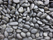 Zwarte steen royalty-vrije stock afbeelding