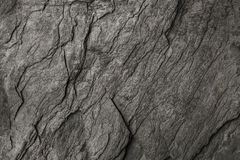 zwarte steen voor patroon en achtergrond Royalty-vrije Stock Fotografie