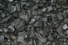 Zwarte Steenkool Stock Fotografie