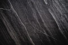Zwarte Steentextuur, achtergrond van de luxe de donkere steen, vignetgrens Royalty-vrije Stock Foto's