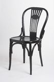 Zwarte stoel II - schwarzer Stuhl II Royalty-vrije Stock Afbeelding