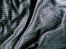 Zwarte stof Stock Fotografie