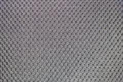 Zwarte stof voor rugzakrug Stock Afbeeldingen