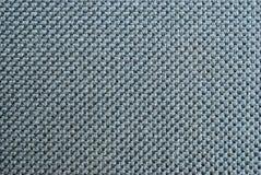Zwarte stoffentextuur Stock Afbeelding