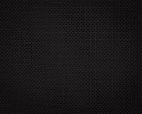 Zwarte stoffentextuur Donkere textielpatroonachtergrond Detail van synthetisch materiaal stock foto's