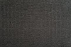 Zwarte stoffentextuur van luidspreker stock afbeelding