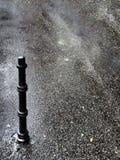 Zwarte straatpool royalty-vrije stock fotografie