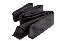Zwarte stropdas Royalty-vrije Stock Afbeelding