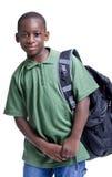 Zwarte Student Stock Foto's
