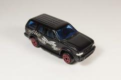 Zwarte stuk speelgoed auto Royalty-vrije Stock Fotografie