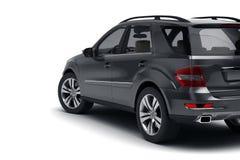 Zwarte SUV Stock Foto