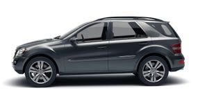 Zwarte SUV Stock Afbeeldingen