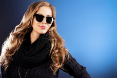Zwarte sweater Royalty-vrije Stock Fotografie