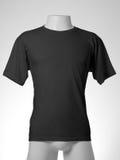 Zwarte t-shirt royalty-vrije stock afbeelding