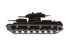 Zwarte tank SMK Royalty-vrije Stock Foto's