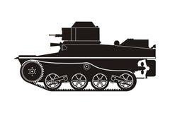Zwarte tank t-41-6 Royalty-vrije Stock Afbeelding