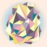 Zwarte Techno-Textuur Geometrische patroonachtergrond Royalty-vrije Stock Afbeelding
