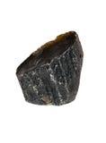 Zwarte Tektite-steen Royalty-vrije Stock Afbeelding