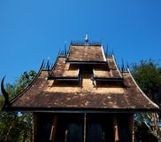 Zwarte tempel Royalty-vrije Stock Afbeeldingen