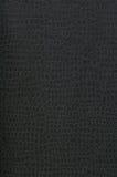Zwarte textiel met onregelmatig patroon Royalty-vrije Stock Foto