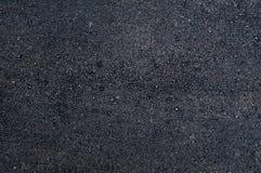 Zwarte textuur van nieuw asfalt Royalty-vrije Stock Afbeelding