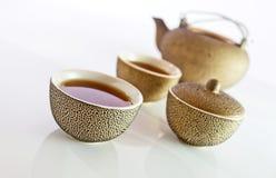 Zwarte thee. Stock Afbeelding
