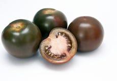 Zwarte tomaat stock fotografie