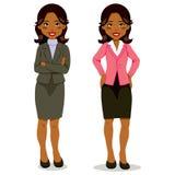 Zwarte Uitvoerende Vrouw Stock Foto's