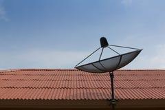Zwarte van de schotel de satellietkleur Royalty-vrije Stock Fotografie