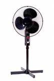 Zwarte ventilator Royalty-vrije Stock Afbeelding