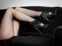 Zwarte verrukkingen Royalty-vrije Stock Fotografie