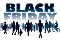 Zwarte vrijdag Stock Foto's