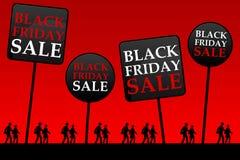 Zwarte vrijdag Royalty-vrije Stock Fotografie