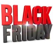Zwarte vrijdag stock illustratie