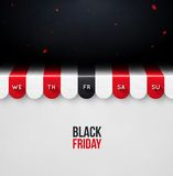 Zwarte vrijdag vector illustratie