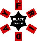 Zwarte vrijdag Royalty-vrije Stock Foto's