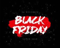 Zwarte vrijdag 24 November Royalty-vrije Stock Foto's