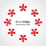 Zwarte vrijdagachtergrond Royalty-vrije Stock Fotografie