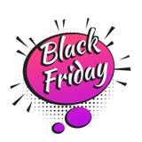Zwarte vrijdagbanner Stock Foto's
