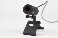 Zwarte webcam Royalty-vrije Stock Foto's